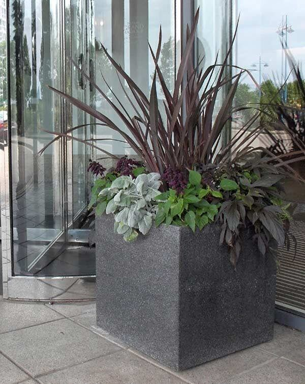 Extra-Large Granite Planters 12