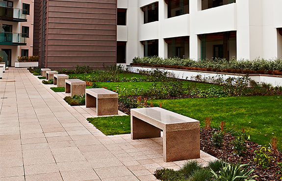 Concrete Planter And Furnishing Designs