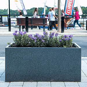 Derry Custom Granite Planters